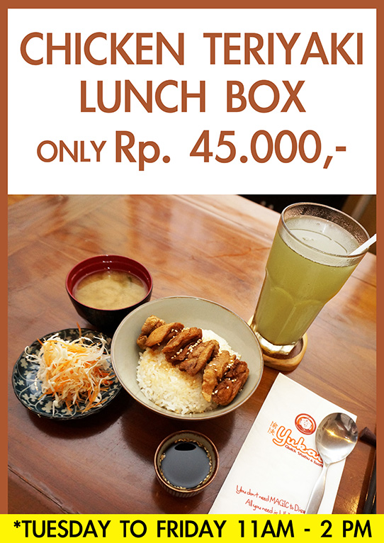 Promo Chicken Lunch Box